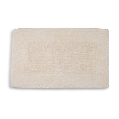 "Lankford Extra Plush Bath Rug Size: 21"" W x 34"" L, Color: Ivory Tusk"