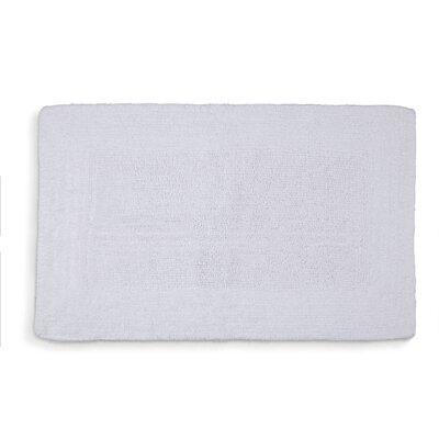 "Lankford Extra Plush Bath Rug Size: 21"" W x 34"" L, Color: White"