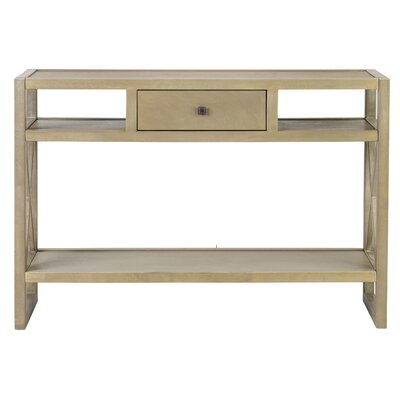 Portside Console Table Color: Gray