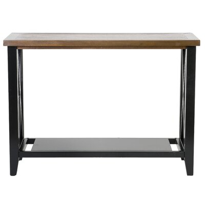 Elida Console Table Color: Espresso