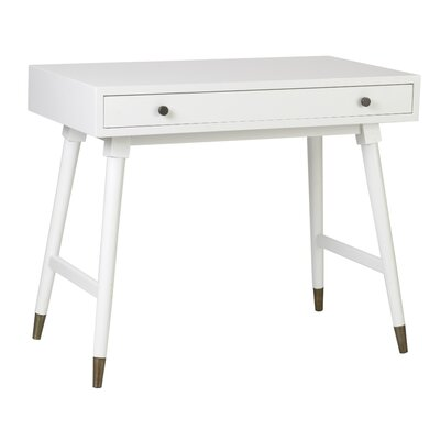 Brien Console Table Color: White