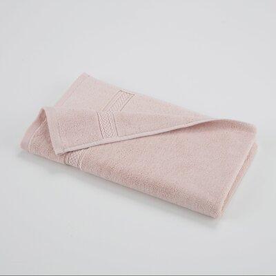 100% Cotton Hand Towel Color: Pale Dogwood