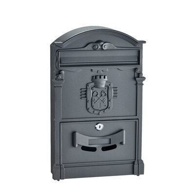 Ancient Castle Locking Wall Mounted Mailbox