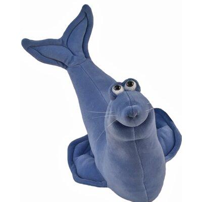 Hille Seal Neck Decorative Figure Color: Smokey Blue