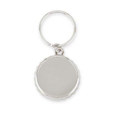 Crest Cap Keychain Bottle Opener