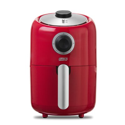 1.6 Liter Compact Air Fryer Color: Red