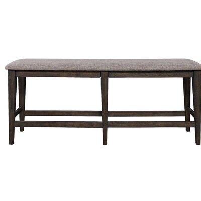 Wampler Counter Wood Bedroom Bench
