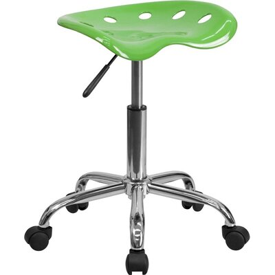 Mccrary Industrial Chair Seat Color: Spicy Lime