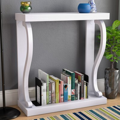 Gallego Melton Console Table Color: White