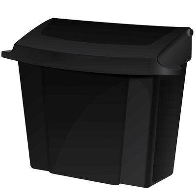 Sanitary Napkin Receptacle Finish: Black