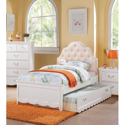 Eurich Panel Bed with Trundle Size: Full