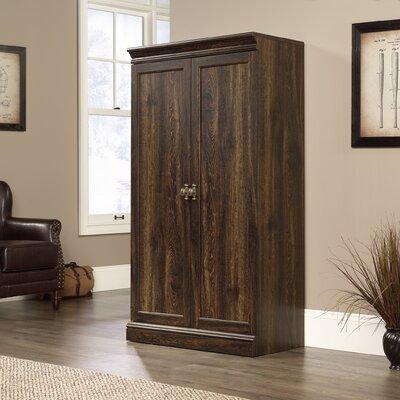 Myatt 2 Door Accent Cabinet Color: Iron Oak