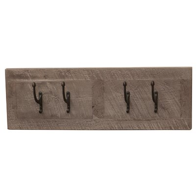 Frontier Wall Coat Rack Color: Driftwood