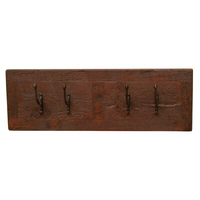 Frontier Wall Coat Rack Color: Red Canyon
