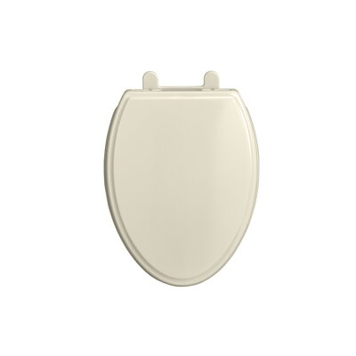 Telescoping Luxury Elongated Toilet Seat Color: Linen