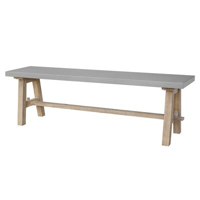 Honeycutt Wood Bench