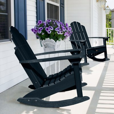 Highpoint Rocking Chair Color: Federal Blue