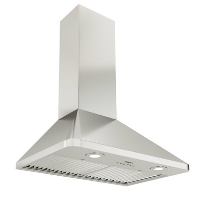 "30"" Rapido Chef Hidden 600 CFM Ducted Wall Mount Range Hood"