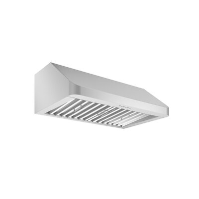 "30"" Chef Hidden 600 CFM Ducted Under Cabinet Range Hood"