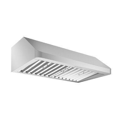 "36"" Chef Hidden 600 CFM Ducted Under Cabinet Range Hood"
