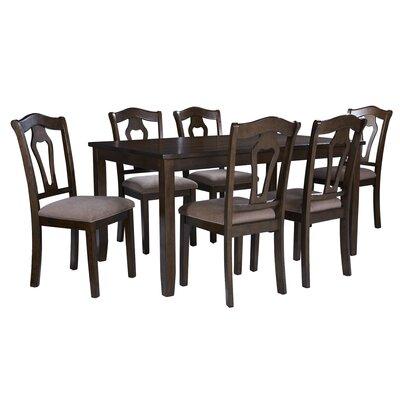 Hofer 7 Piece Dining Table Set