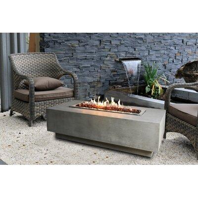 Granville Concrete Fire Pit Table Fuel Type: Propane