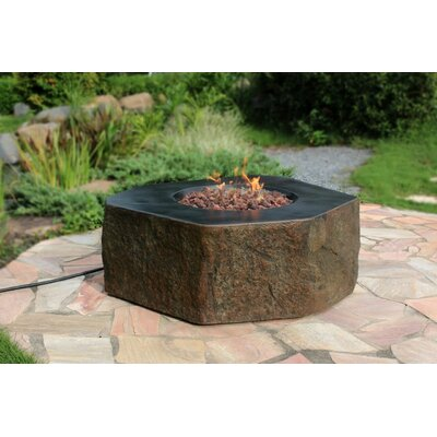 Columbia Concrete Fire Pit Table Fuel Type: Propane