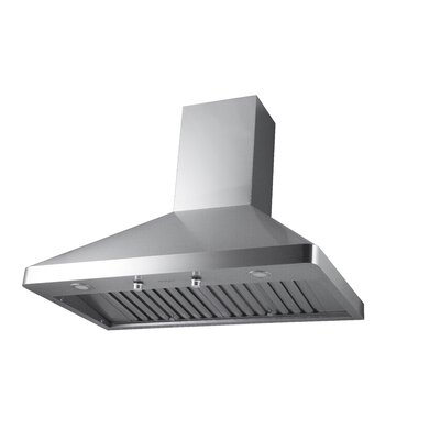 "30"" Galleria Pyramid 600 CFM Ducted Wall Mount Range Hood"
