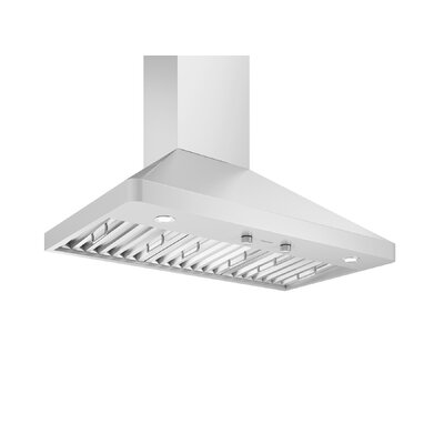 "36"" Galleria Pyramid 600 CFM Ducted Wall Mount Range Hood"