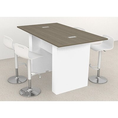 "Laub 72"" W Training Table Finish: Aira Laminate"