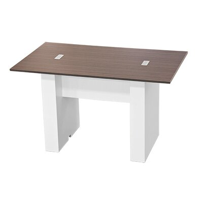 "Laub 72"" W Training Table Finish: Burma Cherry Laminate"