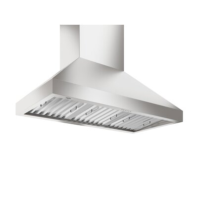 "48"" Turbo WPro 1000 CFM Ducted Wall Mount Range Hood"