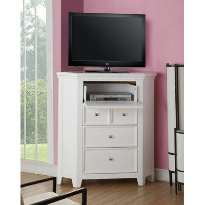 """Didmarton Corner 42"""" TV Stand Color: White"""