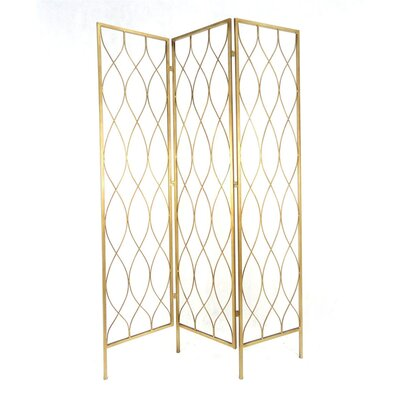 Kloss Geometrical 3 Panel Room Divider