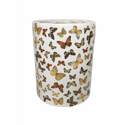 Fred Fancy Butterfly Garden Stool