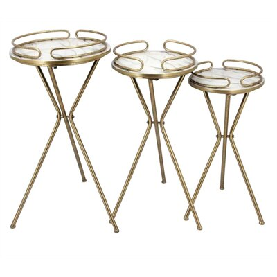 Klinger Contemporary 3 Piece Nesting Plant Stand Set