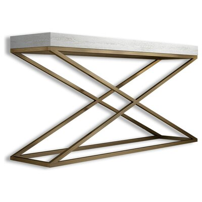 """Saybrook Console Table Size: 29.5"""" H x 47"""" W x 15.6"""" D"""