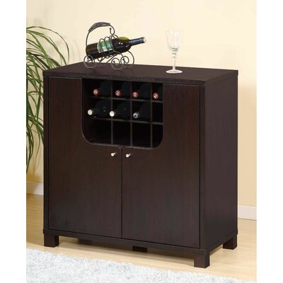Red Barrel Studio Cozine Bar Cabinet
