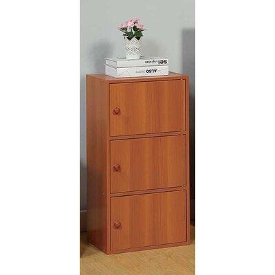 Nobles 3 Door Accent Cabinet Color: Light Cherry