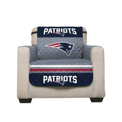 NFL Armchair Slipcover NFL Team: New England Patriots