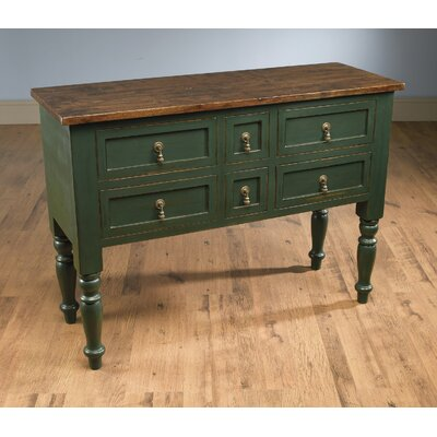 Dierking 6 Drawer Accent Chest Color: Green