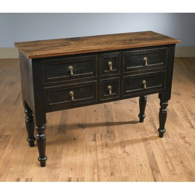 Dierking 6 Drawer Accent Chest Color: Black