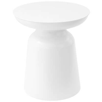 Palko Accent Stool Color: White