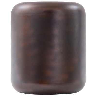 Ohanlon Capsule Accent Stool Color: Oil Rubbed Bronze