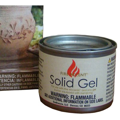 Fire Accent Solid Gel Fuel