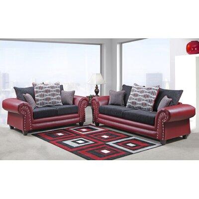 Fresquez 2 Piece Living Room Set