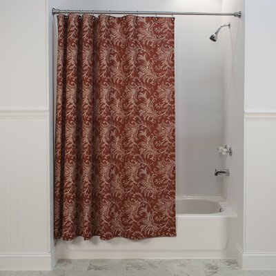 Heitman Shower Curtain Color: Red