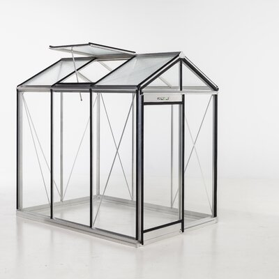 Piccolo Glass 7.5 Ft. x 5.5 Ft. Hobby Greenhouse