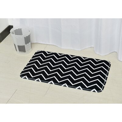 Zigzag Bath Rug