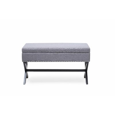 Fray Upholstered Storage Bench